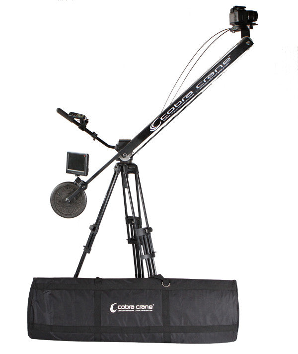 CobraCrane BackPacker - 8 foot Camera Jib and Bag Set