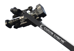 CobraCrane 2HD 10 Foot Dual Arm Heavy Duty Camera Jib w bag set