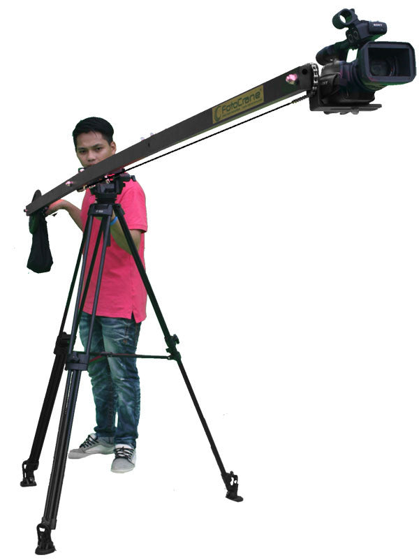 12 Foot single arm lightweight camera jib