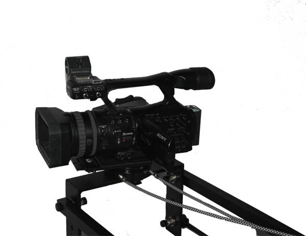 12 foot dual arm camera Jib with mechanical pan and tilt & bag