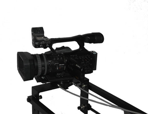 King Cobra - 12 foot dual arm camera Jib mechanical pan and tilt (no tripod)