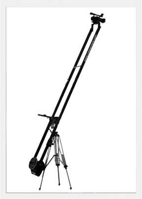 12 foot dual arm Aluminum camera Jib w bag set