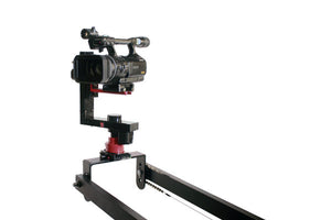 12 foot Dual Arm Lightweight Camera Crane w pan head & Bag Set