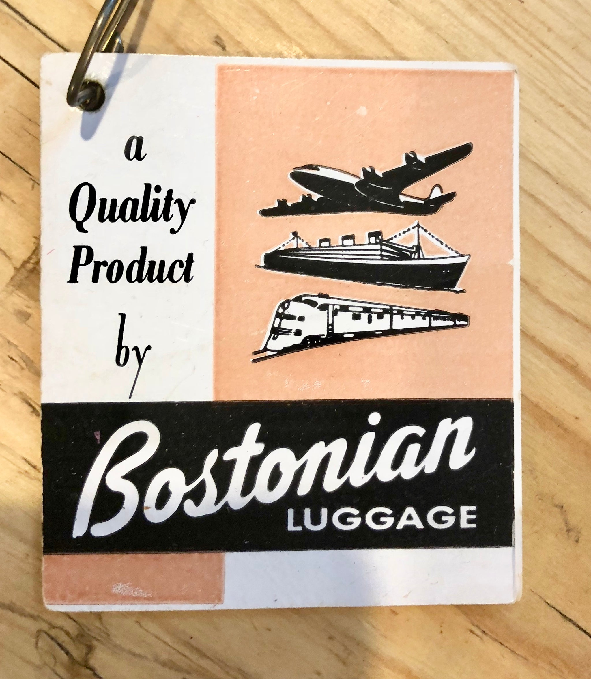 Bostonian Luggage and my grandfather