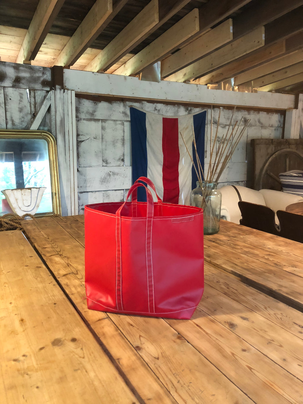 Rigger Tote in Red