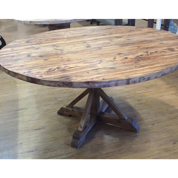 Round Reclaimed Table