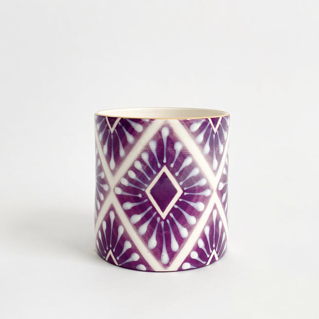 Jill Rosenwald Vase - Neil Diamond in Violet