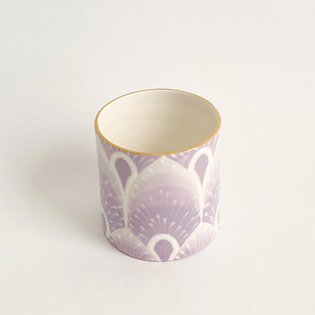 Jill Rosenwald Vase - West Palm in Lilac