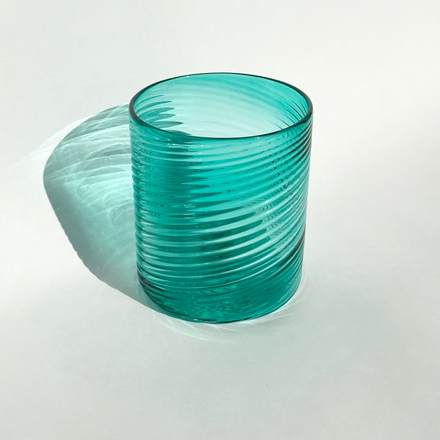 Hand Blown Glass - Aegean Ribbon