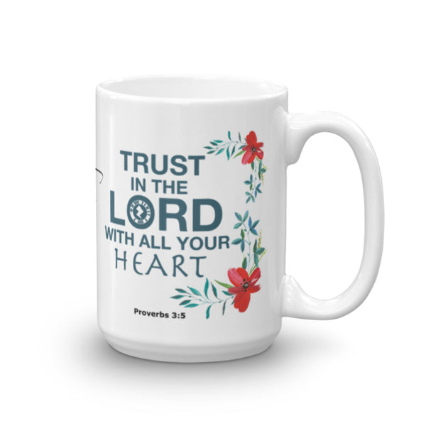 "Interacting Faith ""Trust"" 15oz Mug"