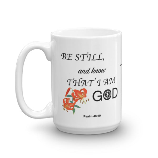 "Interacting Faith ""Be Still"" 15oz Mug"