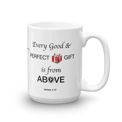 "Interacting Faith ""Perfect Gift"" 15oz Mug"