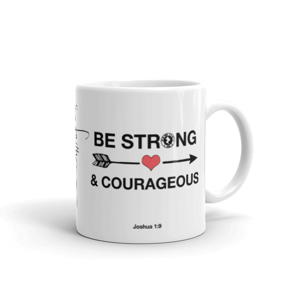 "Interacting Faith ""Be Strong"" Mug"