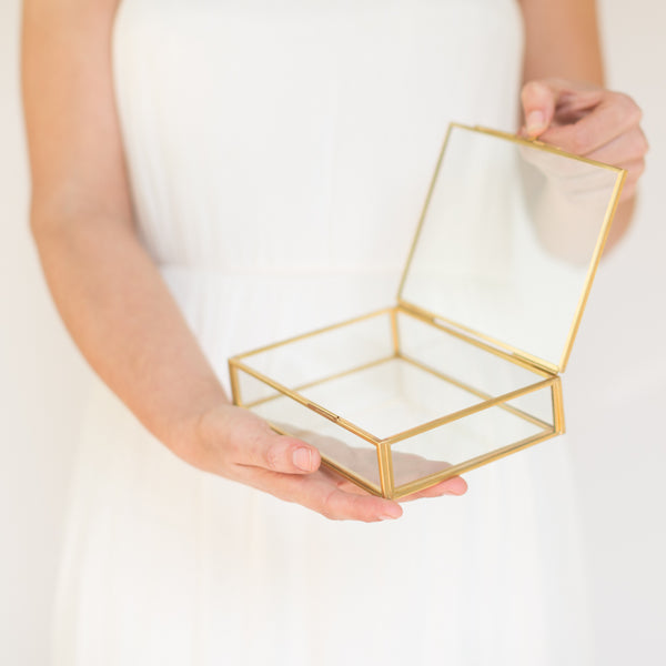 Glass photo box, 4x6 proof box