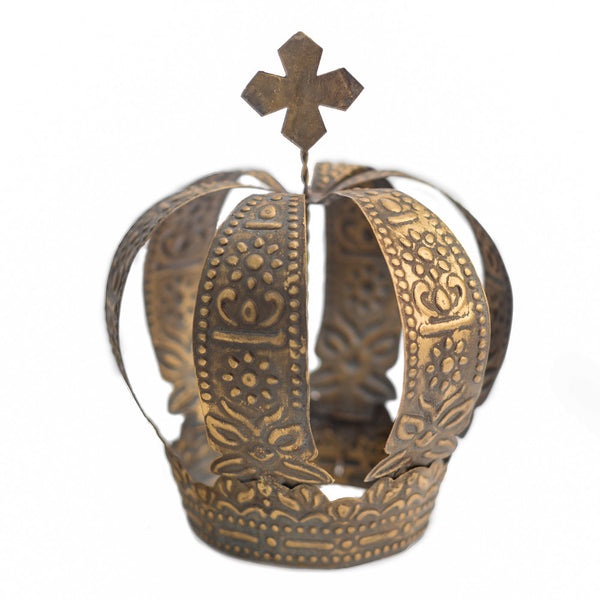 Rustic Gold Crown ~ Ava
