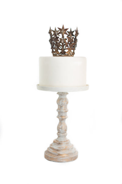 Gold Crown Cake Topper ~ Elizabeth petite