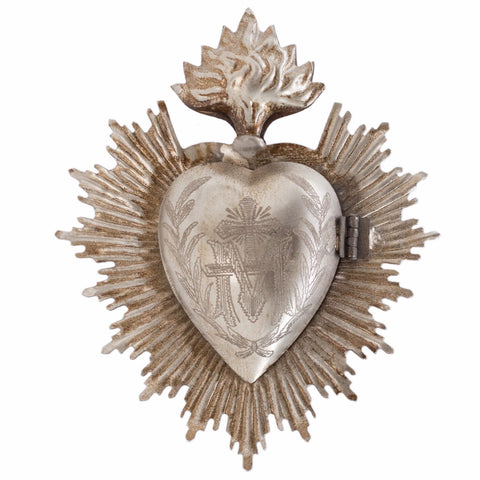 Sacred Heart ~ Silver