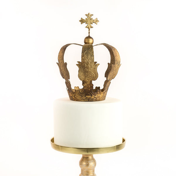 Cross Top Gold Crown ~ Mia