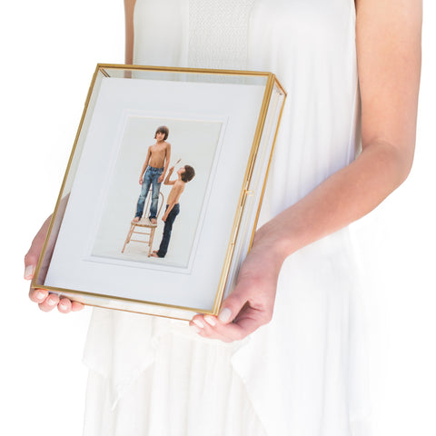 Glass photo box, 8x10 proof box