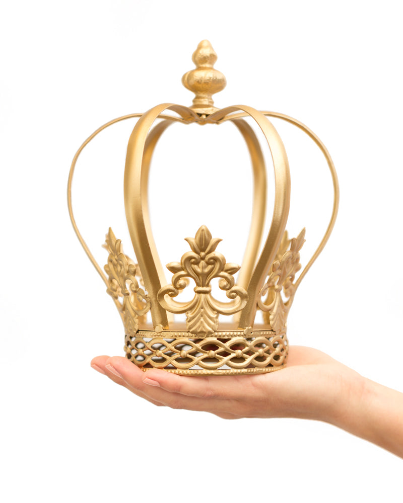 Gold Crown Cake Topper ~ Harper