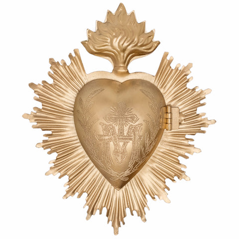 Sacred Heart ~ Gold