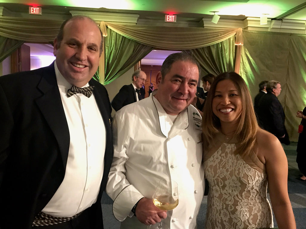Don & Rose with Emeril Lagasse at charity event in New Orleans!