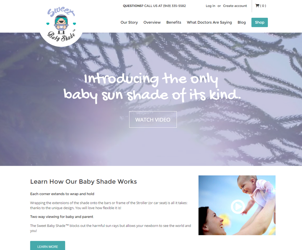 SweetBabyShade.com is LIVE!
