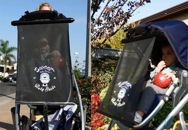 "Stroller sun shade - ""Toddler Deluxe"""