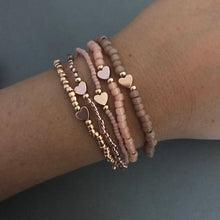Load image into Gallery viewer, The OG Rose Gold Teeny Stack