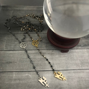 The Pagan Rosary in Gold