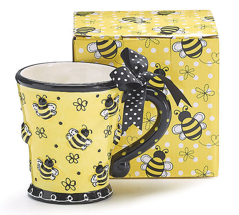 Yellow Buzzin Bee Mug