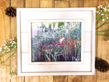 I Have Loved You With An Everlasting Love Photography Wood 8x10 Frame