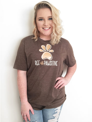 Bee Pawsitive Short Sleeve Tee