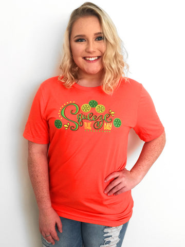 Squeeze the Day Short Sleeve Tee