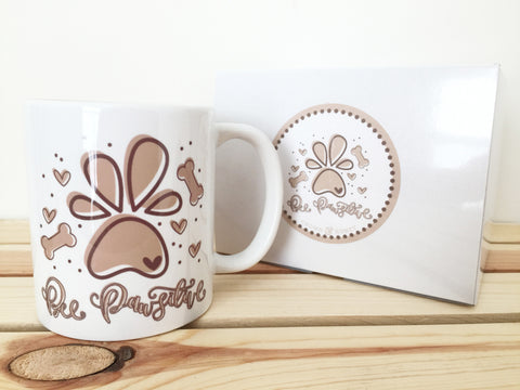 Bee Pawsitive Coffee Mug
