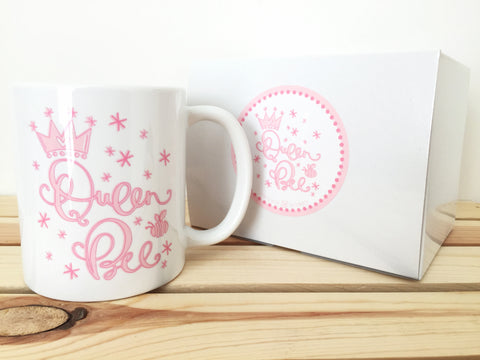 Pink Queen Bee Coffee Mug