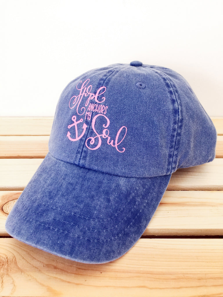 Hope Anchors My Soul Baseball Hat