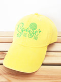 Squeeze the Day Baseball Hat