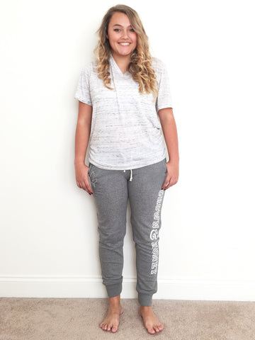 Crown & Honey Jogger Pants - Grey