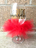BRIDE Glass Personalized and Custom Colors