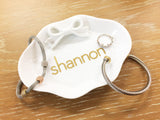 Custom Name Ring Dish Jewelry Dish