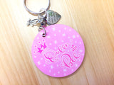 Queen Bee Crown Key Chain