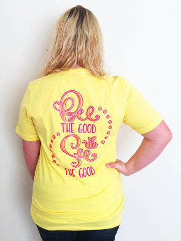 Bee the Good See the Good Short Sleeve Tee