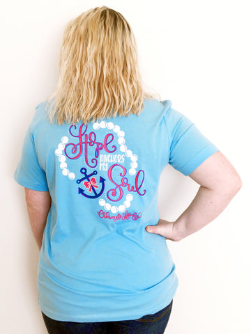 Hope Anchors My Soul Short Sleeve Tee