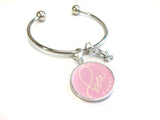 Bee Sweet Bangle Bracelet - Silver