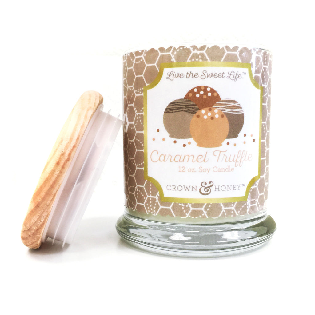 Caramel Truffle 12 oz. Scented Candle