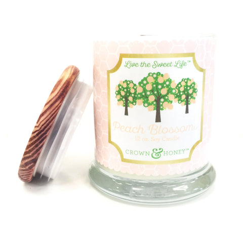 Peach Blossoms 12 oz. Scented Candle
