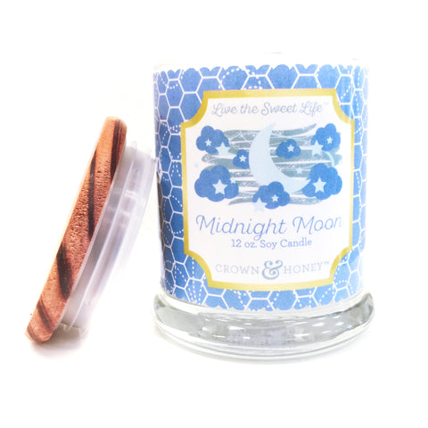Midnight Moon 12 oz. Scented Candle