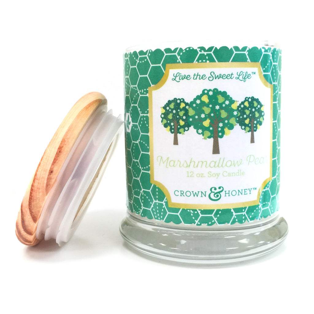 Marshmallow Pear 12 oz. Scented Candle