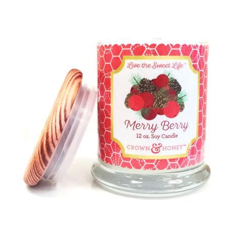 Merry Berry 12 oz. Scented Candle